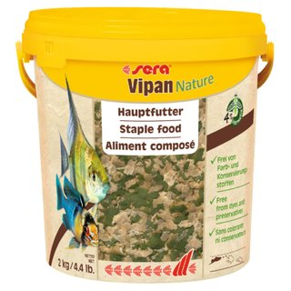 Sera Vipan Nature Grossflocken 10 Liter
